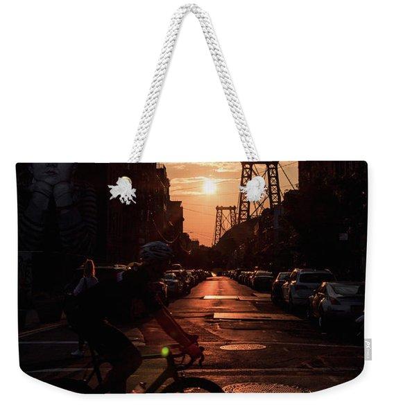 Bask In The Light  Weekender Tote Bag