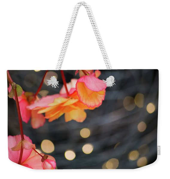 Basket Begonia Weekender Tote Bag