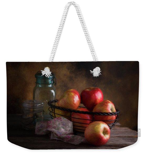 Basket Of Apples Weekender Tote Bag