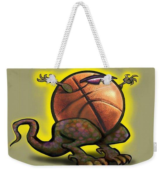 Basketball Saurus Rex Weekender Tote Bag