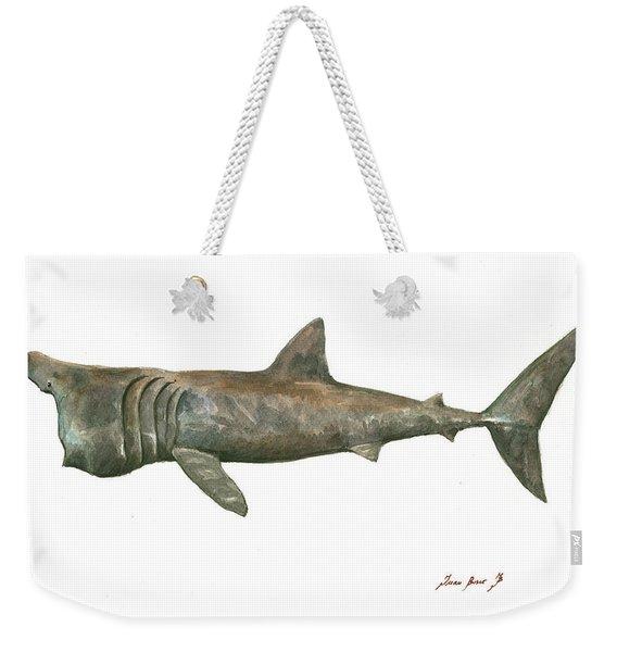 Basking Shark Weekender Tote Bag