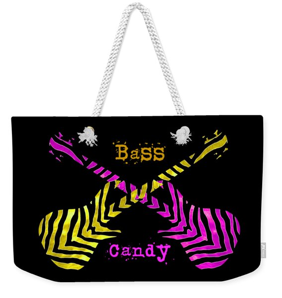 Bass Candy Weekender Tote Bag