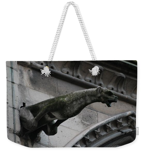 Bat Eared Dog Gargoyle Of Notre Dame Weekender Tote Bag