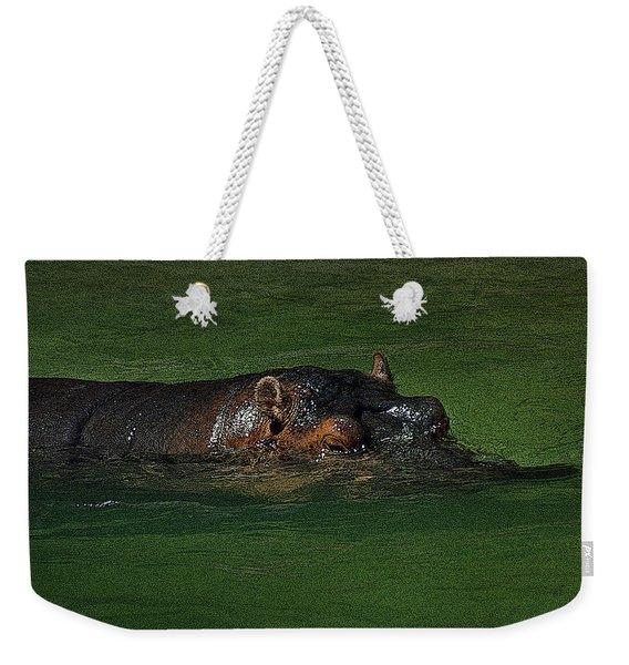 Bathing Time Weekender Tote Bag
