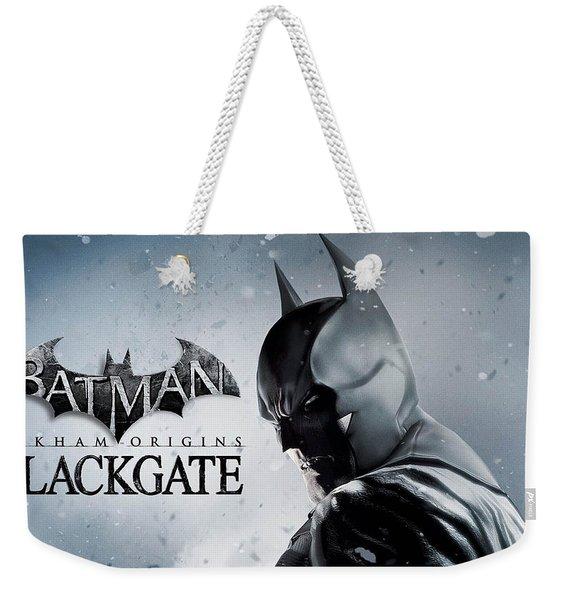 Batman Arkham Origins Blackgate Weekender Tote Bag