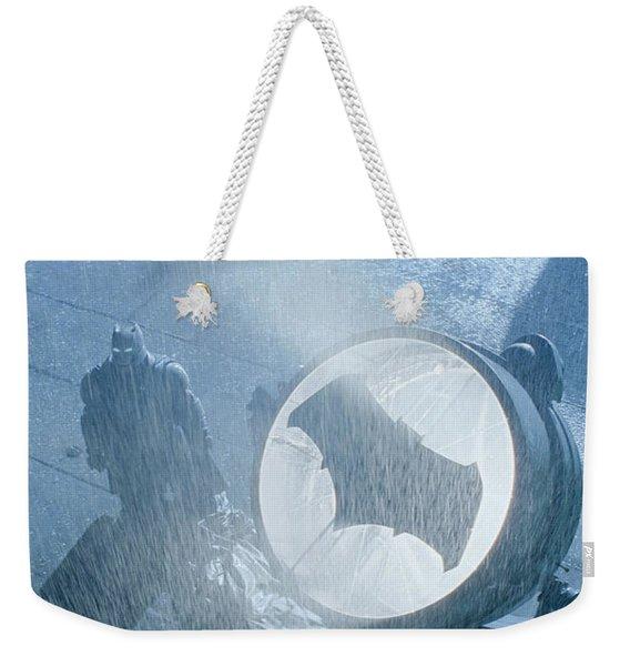 Batman V Superman Dawn Of Justice Weekender Tote Bag