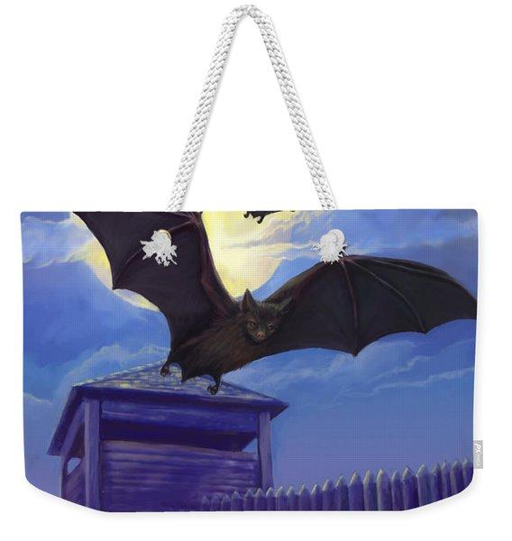 Batsfly Weekender Tote Bag