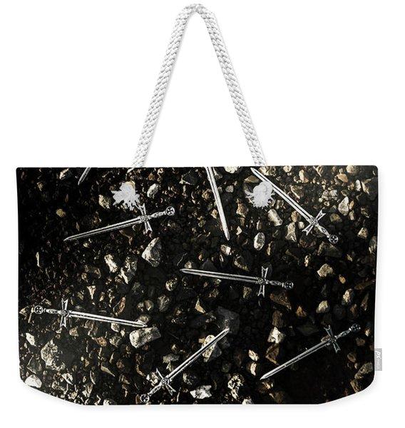 Battle Blades Weekender Tote Bag