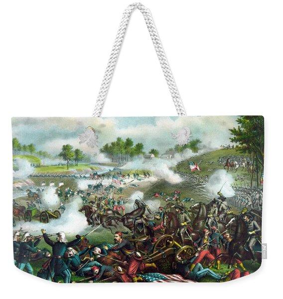 Battle Of Bull Run Weekender Tote Bag