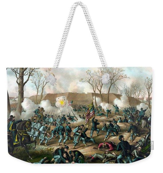 Battle Of Fort Donelson Weekender Tote Bag