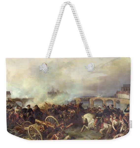 Battle Of Montereau Weekender Tote Bag