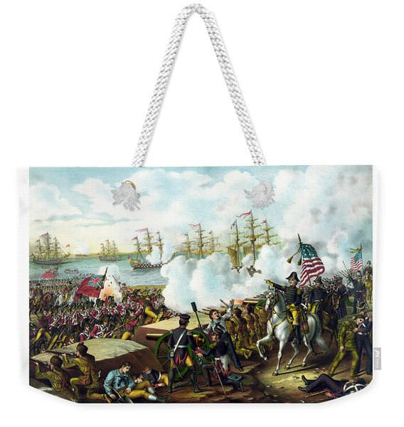 Battle Of New Orleans Weekender Tote Bag