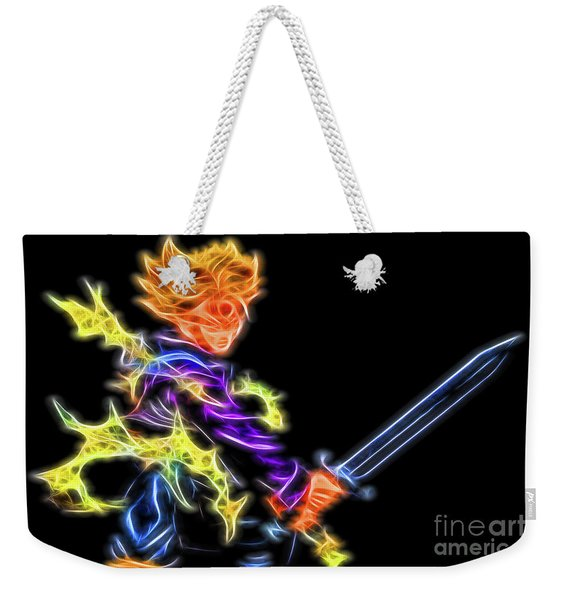 Battle Stance Trunks Weekender Tote Bag