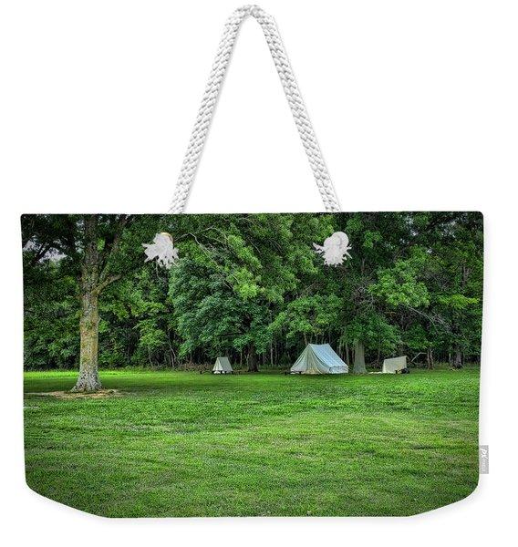 Battlefield Camp 2 Weekender Tote Bag