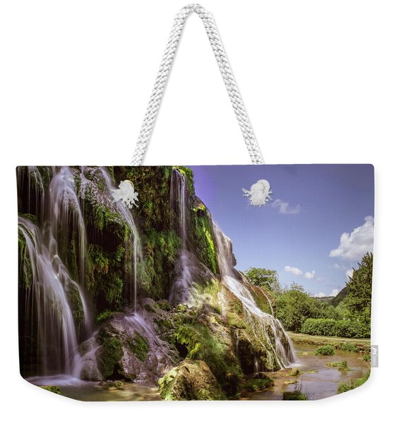 Baume Les Messieurs, France. Weekender Tote Bag
