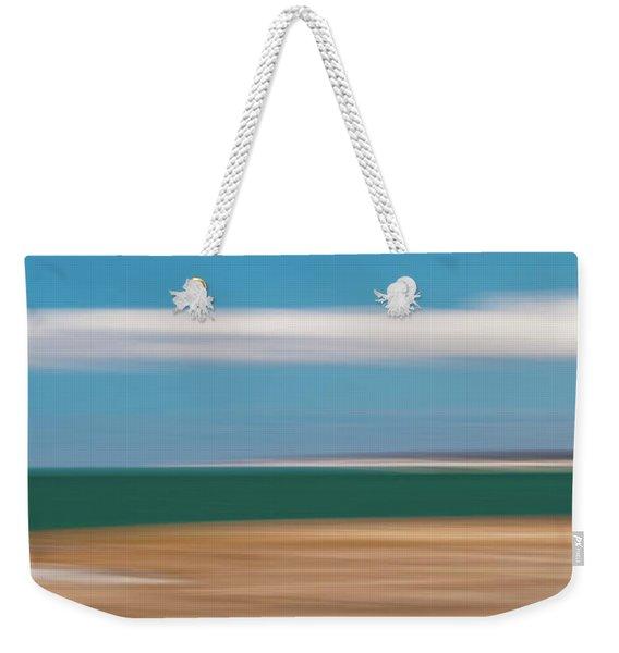 Bay Cloud Weekender Tote Bag
