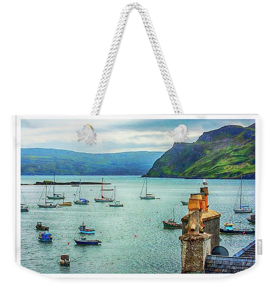 Bay Of Boats Weekender Tote Bag