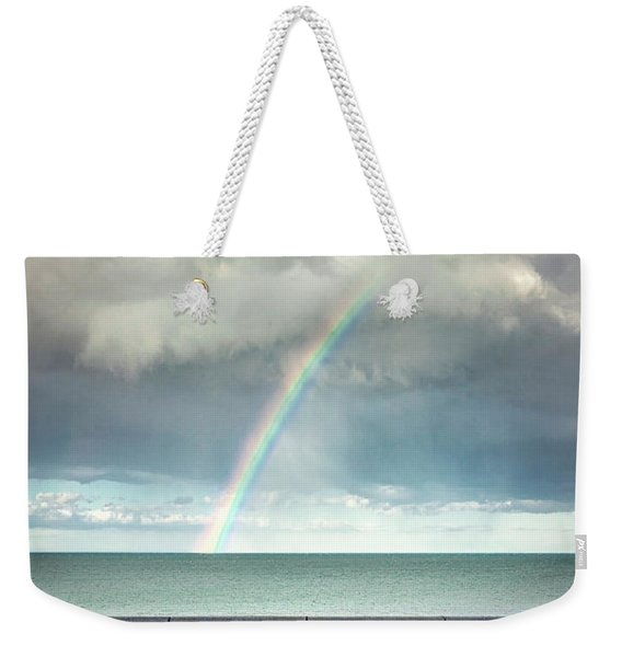 Bay Of Rainbows Weekender Tote Bag