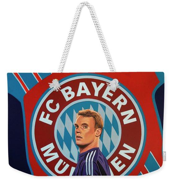 Bayern Munchen Painting Weekender Tote Bag