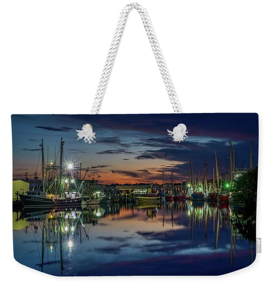 Bayou Reflections At Dusk #2 Weekender Tote Bag