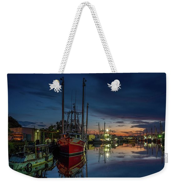 Bayou Reflections At Dusk Weekender Tote Bag
