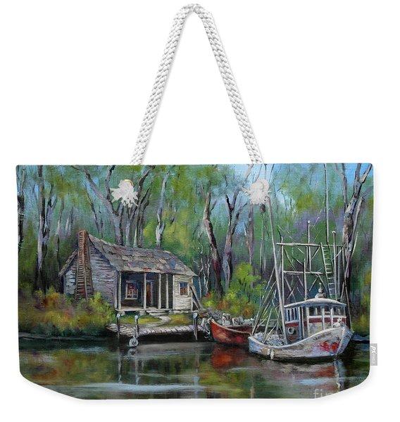 Bayou Shrimper Weekender Tote Bag