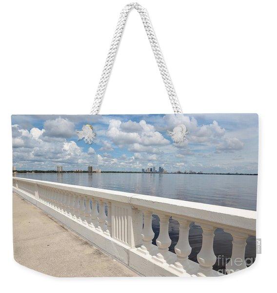 Bayshore Boulevard Balustrade Weekender Tote Bag