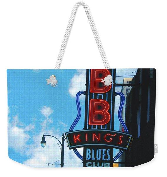 Bb Kings Weekender Tote Bag