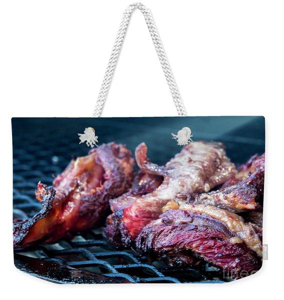 Bbq Beef 1 Weekender Tote Bag