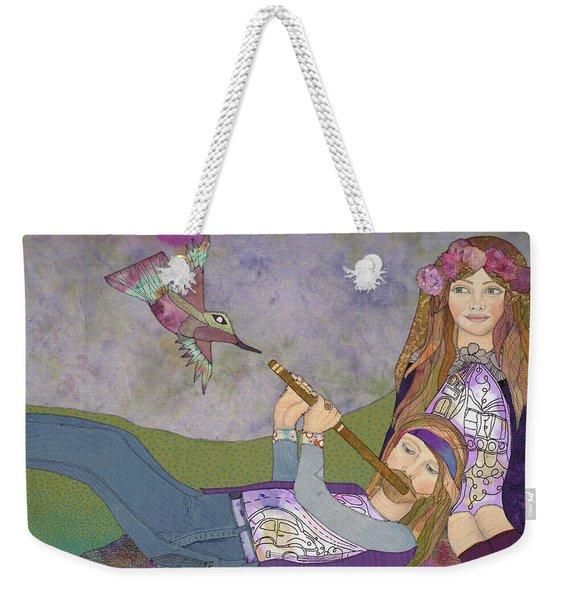 Be In Weekender Tote Bag