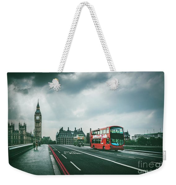 Be Legendary Weekender Tote Bag