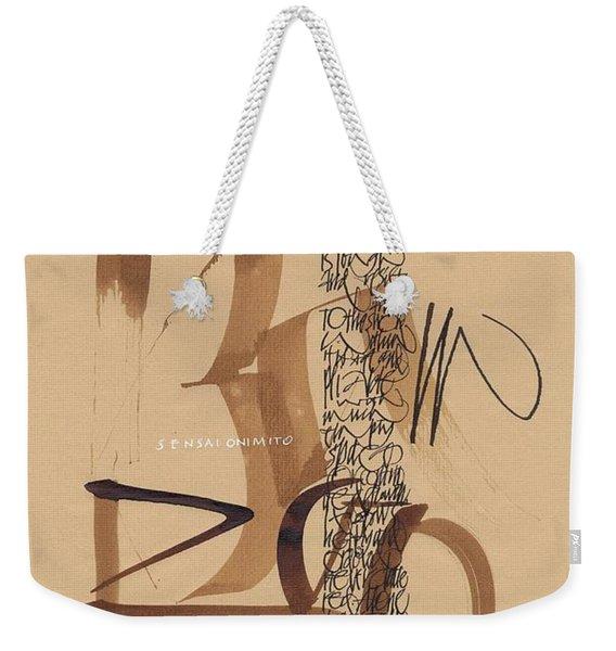 Be Like The Bamboo Weekender Tote Bag