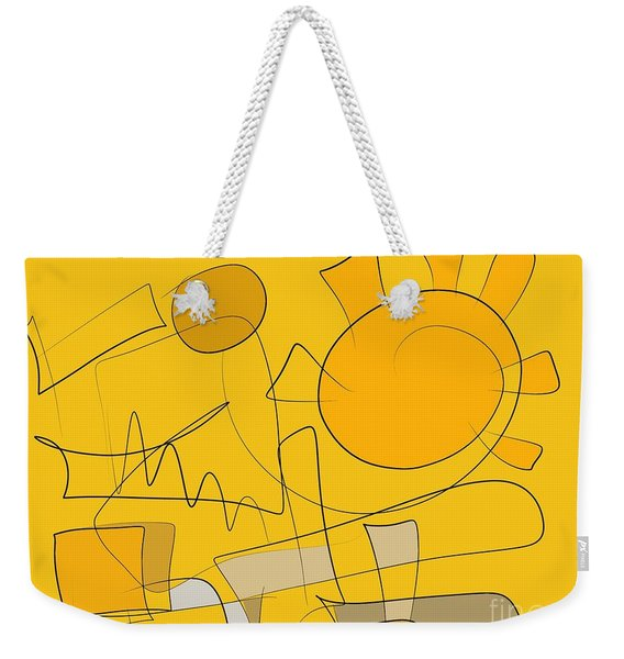 Be Strong Weekender Tote Bag
