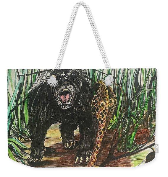 Be The Honey Badger Weekender Tote Bag