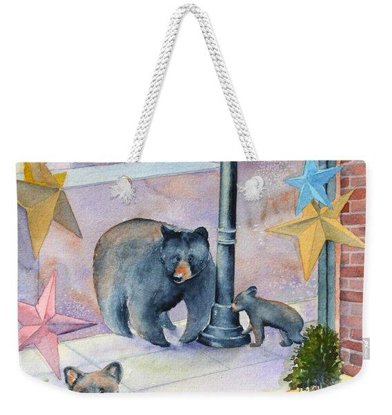 Bean Bears Weekender Tote Bag