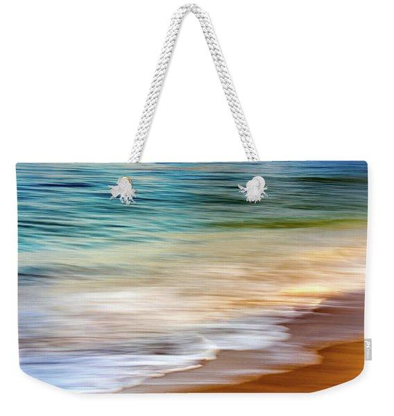 Beach Abstract Weekender Tote Bag