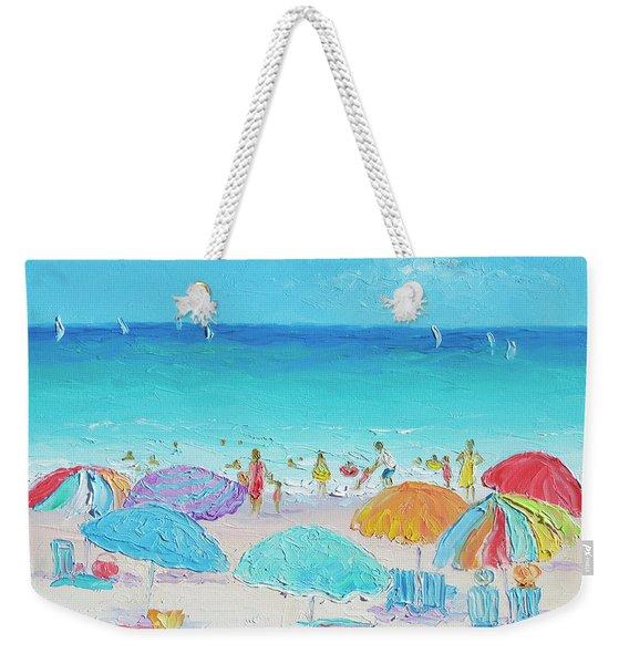 Beach Art - Summer Weekender Tote Bag
