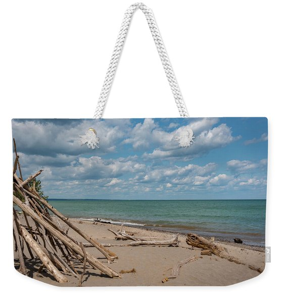Beach At Doctors Park I Weekender Tote Bag