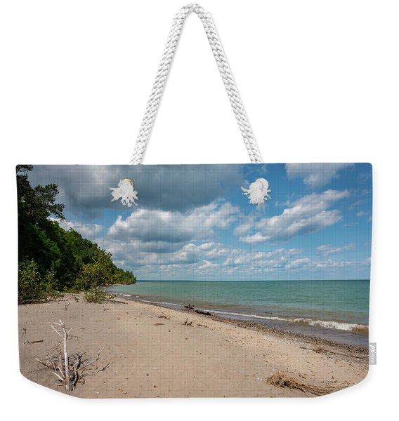 Beach At Doctors Park Iv Weekender Tote Bag