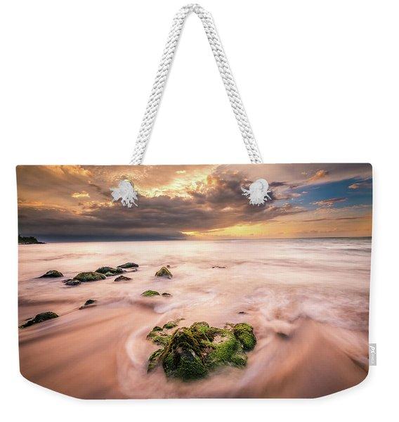 Beach At Paia Weekender Tote Bag