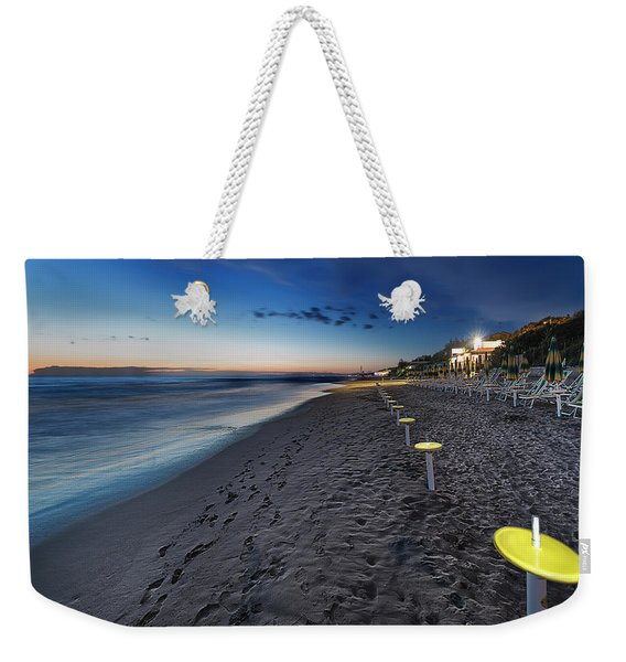 Beach At Sunset - Spiaggia Al Tramonto II Weekender Tote Bag