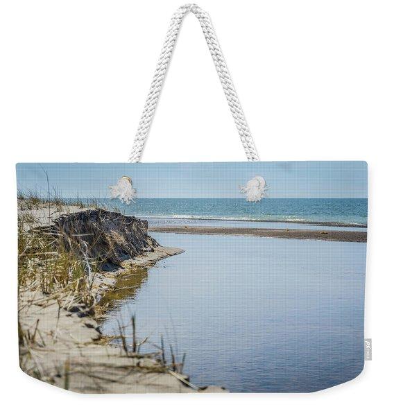 Beach At Warren Dunes Weekender Tote Bag