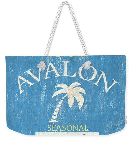 Beach Badge Avalon Weekender Tote Bag