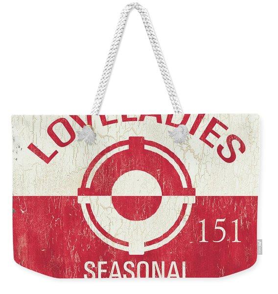 Beach Badge Loveladies Weekender Tote Bag