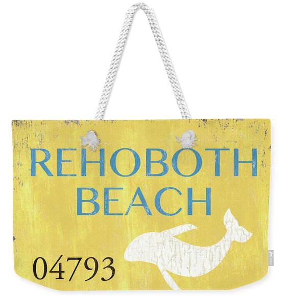 Beach Badge Rehoboth Beach Weekender Tote Bag