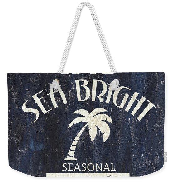Beach Badge Sea Bright Weekender Tote Bag