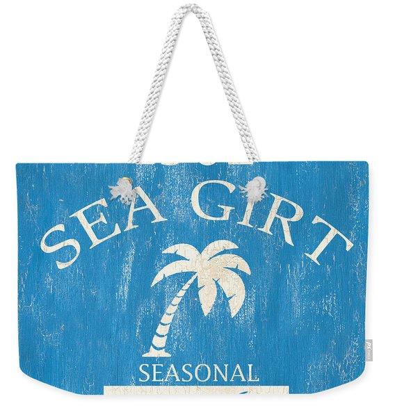 Beach Badge Sea Girt Weekender Tote Bag