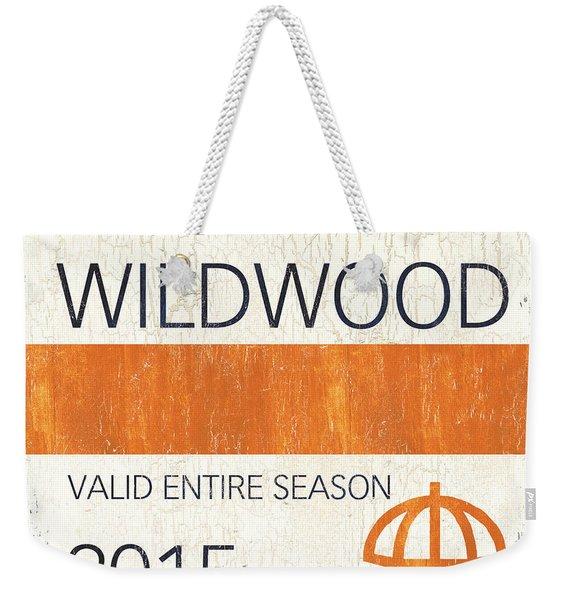Beach Badge Wildwood Weekender Tote Bag