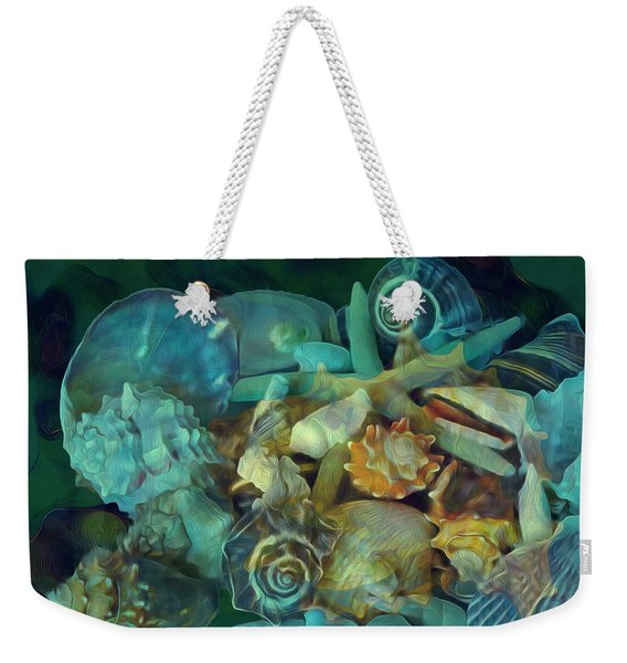 Beach Beauty 10  Weekender Tote Bag