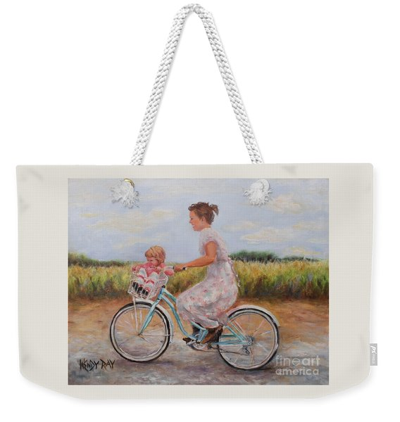 Beach Bound Weekender Tote Bag